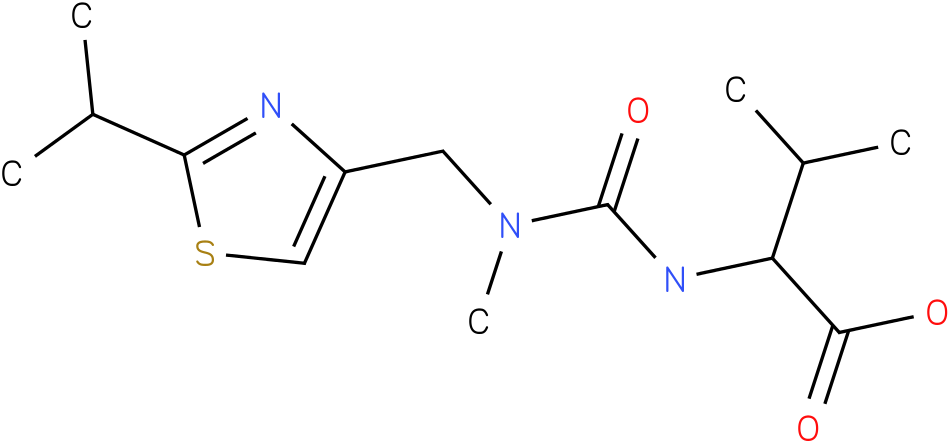 N-[2-isopropylthiazol-4-ylmethyl(methyl)carbamoyl ]-L-Valine