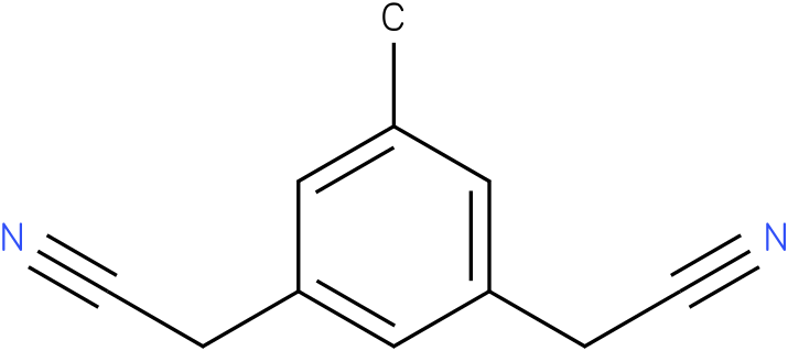 5-methyl-1,3-diacetonitrilbezene