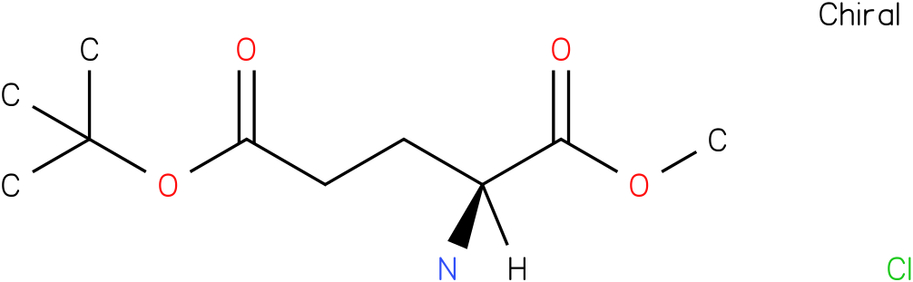 L-Glutamic acid 5-tert-butyl 1-methyl ester hydrochloride
