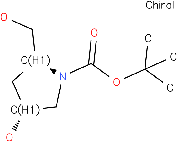 (2S,4R)-tert-butyl 4-hydroxy-2-(hydroxymethyl)pyrrolidine-1-carboxylate