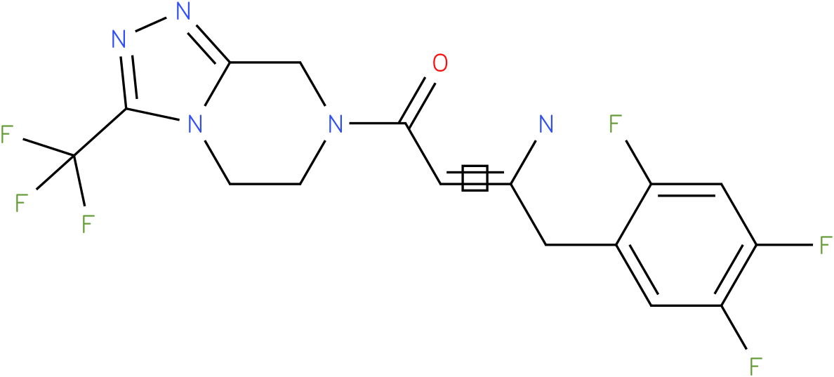 (2Z)-4-oxo-4-[3-(trifluoromethyl)-5,6-dihydro[1,2,4]triazolo[4,3-a]pyrazin-7(8H)-yl]-1-(2,4,5-trifluorophenyl)but-2-En-2