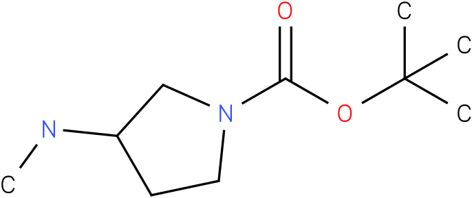 1-boc-3-methylaminopyrrolidine