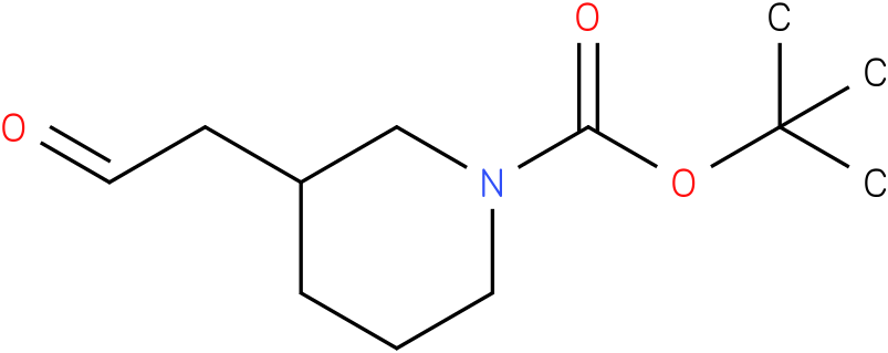 3-(2-oxo-ethyl)-piperidine-1-carboxylic acid tert-butyl ester