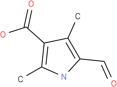 5-formyl-2,4-dimethyl-1H-pyrrole-3- carboxylic acid