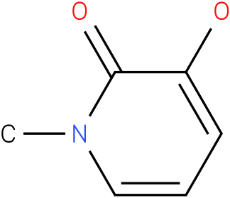 1-methyl-3-hydroxy-2(1H)-pyridinone