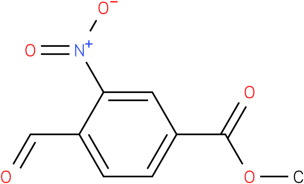 Methyl 4-formyl-3-nitrobenzoate