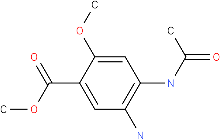 4-Acetylamino-5-Amino-2-Methoxybenzoic Acid Methyl Ester