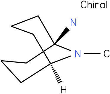 1-Amino-9-methyl-9-azabicyclo[3,3,1]-nonane