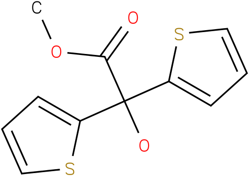 Methyl 2,2-dithienyl glycolate