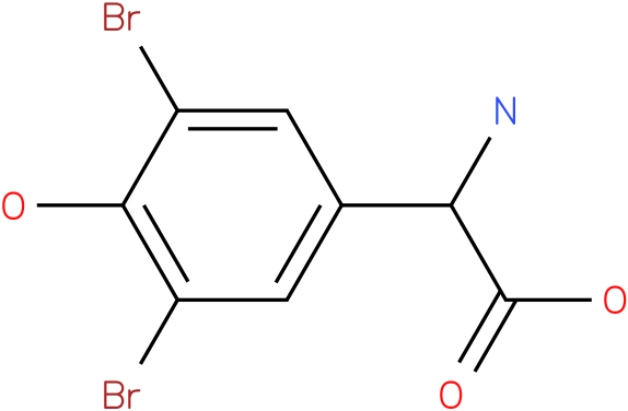 Amino-(3,5-dibromo-4-hydroxy-phenyl)-acetic acid