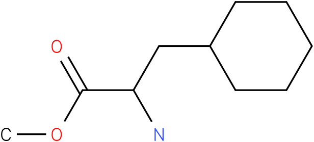 B-Cycloheyl-dl-alamin-methyl ester