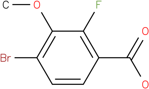 4-bromo-2-fluoro-3-methoxy-benzoic acid