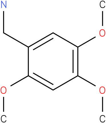 2,4,5-Trimethoxybenzylamine