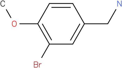 3-Bromo-4-methoxybenzylamine