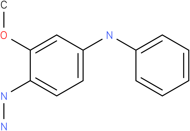 (4-Hydrazino-3-methoxy-phenyl)-phenyl-amine
