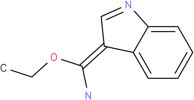 1h-indole-3-carboximidic acid ethyl ester