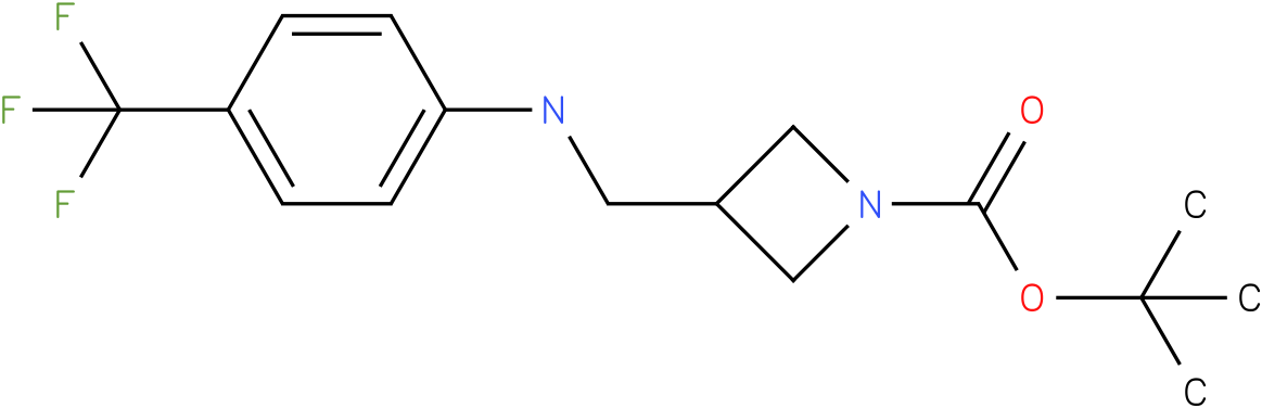 1-Boc-3-{[(4-Trifluoromethyl-phenyl)-amino]-methyl}-azetidine