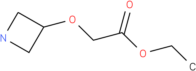 ethyl 2-(azetidin-3-yloxy)acetate