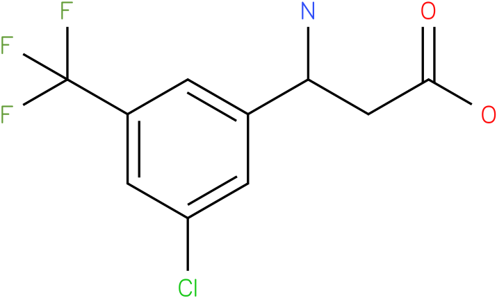 3-Amino-3-(3-chloro-5-trifluoromethyl-phenyl)-propionic acid
