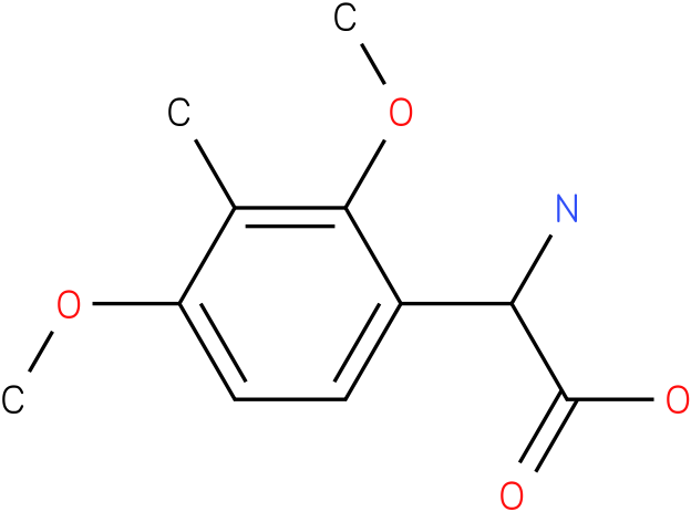 Amino-(2,4-dimethoxy-3-methyl-phenyl)-acetic acid