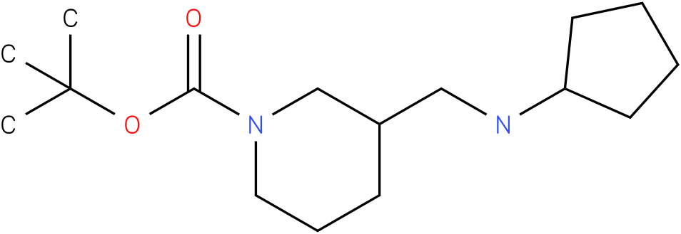 1-Boc-3-Cyclopentylaminomethyl-piperidine