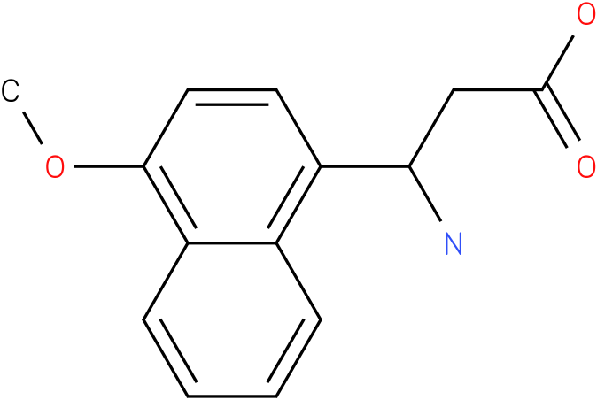 3-Amino-3-(4-methoxy-naphthalen-1-yl)-propionic acid