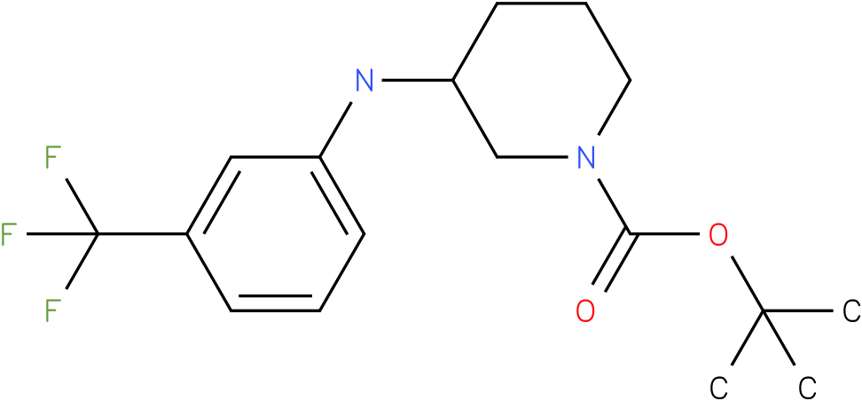 1-Boc-3-(3-Trifluoromethyl-phenylamino)-piperidine