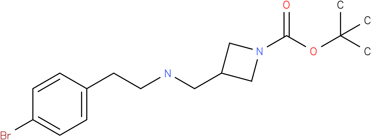 1-Boc-3-{[2-(4-Bromo-phenyl)-ethylamino]-methyl}-azetidine