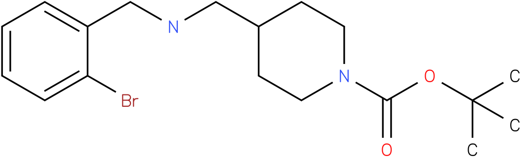1-Boc-4-[(2-Bromo-benzylamino)-methyl]-piperidine