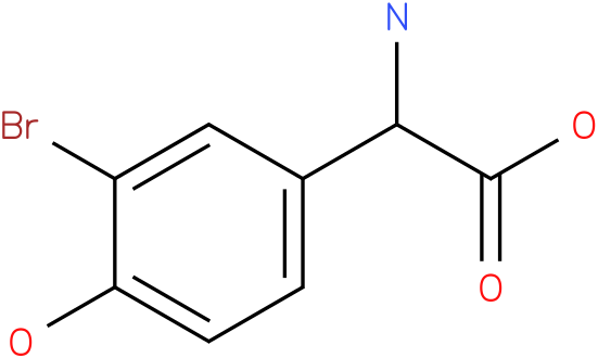 Amino-(3-bromo-4-hydroxy-phenyl)-acetic acid