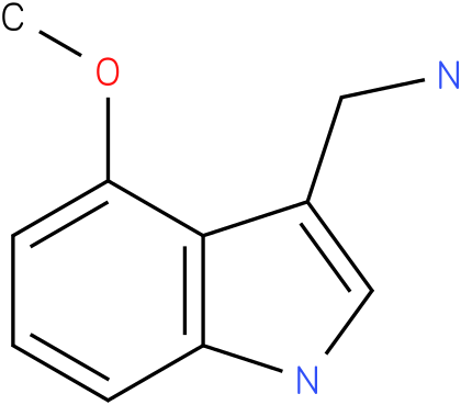 4-methoxy-1H-indol-3-methylamine