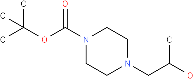4-(2-hydroxy-propyl)-piperazine-1-carboxylic acid tert-butyl ester