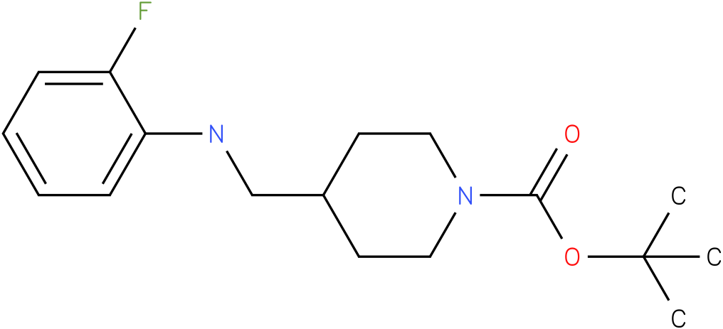 1-Boc-4-[(2-Fluoro-phenylamino)-methyl]-piperidine