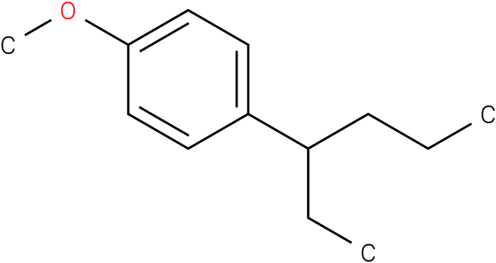 1-(hexan-3-yl)-4-methoxybenzene