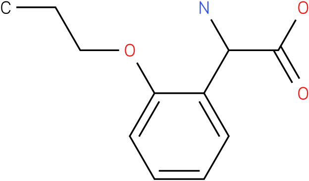 Amino-(2-propoxy-phenyl)-acetic acid