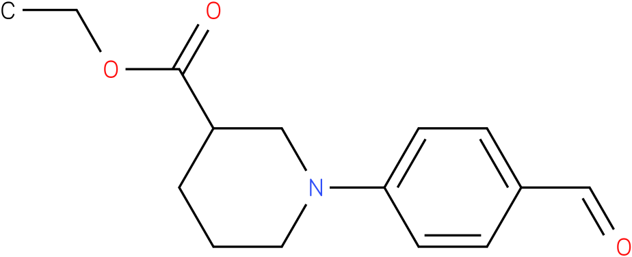 1-(4-formyl-phenyl)-piperidine-3-carboxylic acid ethyl ester