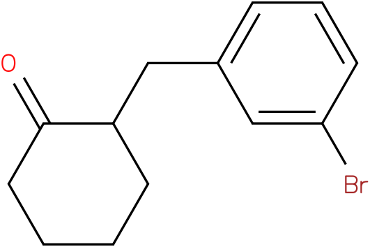 2-(3-bromobenzyl)cyclohexanone