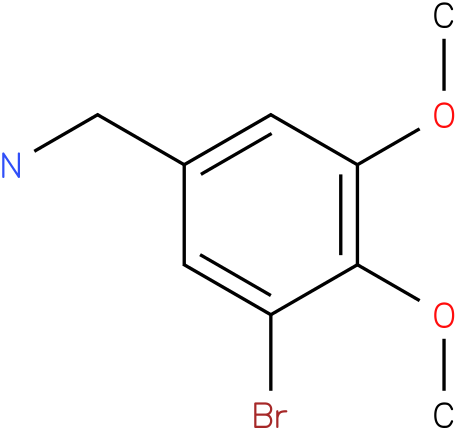 3-Bromo-4,5-dimethoxybenzylamine