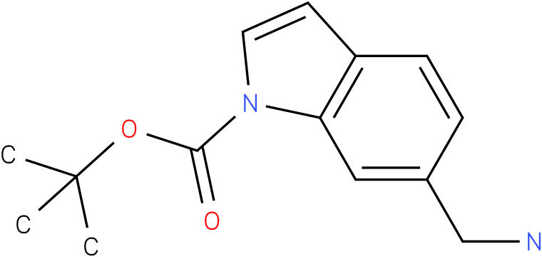 6-aminomethyl-indole-1-carboxylic acid tert-butyl ester