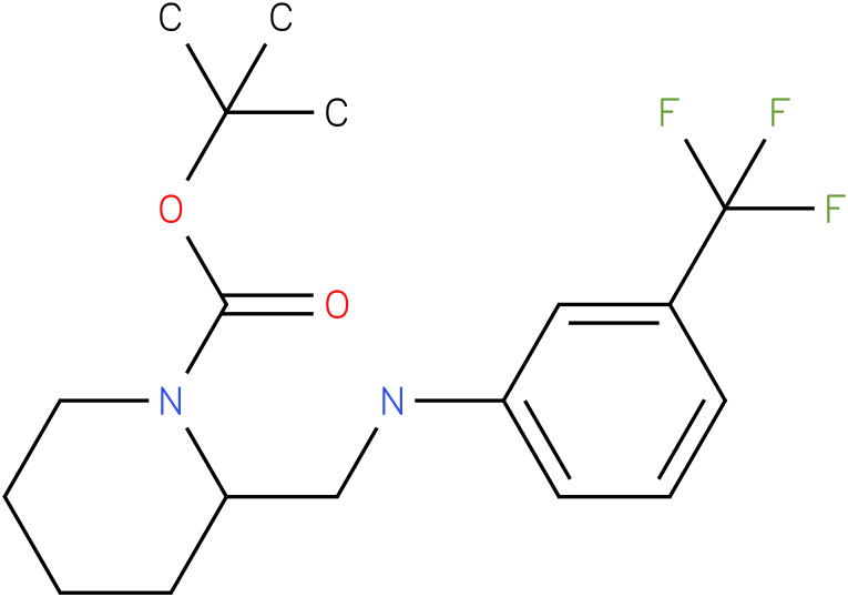 1-Boc-2-[(3-Trifluoromethyl-phenylamino)-methyl]-piperidine