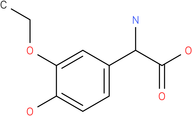 Amino-(4-hydroxy-3-ethoxy-phenyl)-acetic acid