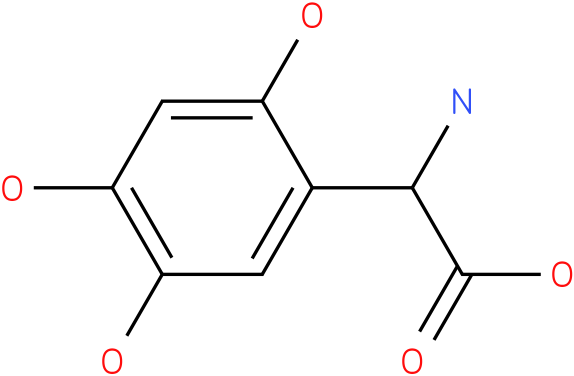 Amino-(2,4,5-trihydroxy-phenyl)-acetic acid