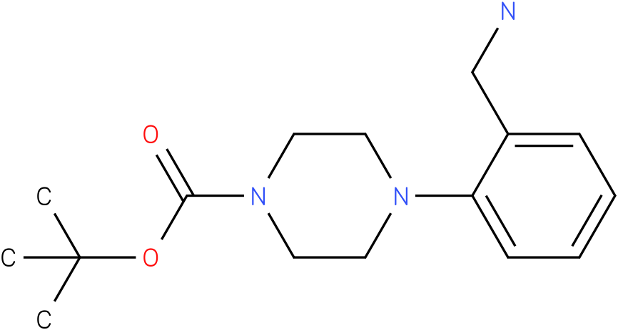 1-(2-aminomethyl-phenyl)-piperazine-4-carboxylic acid tert-butyl ester