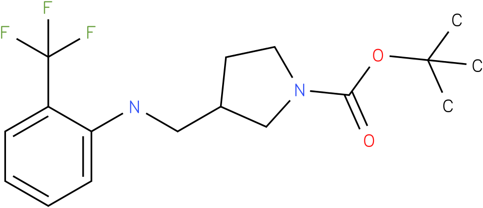 1-Boc-3-{[(2-Trifluoromethyl-phenyl)-amino]-methyl}-pyrrolidine