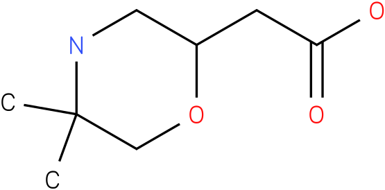 (5,5-dimethyl-morpholin-2-yl)-acetic acid