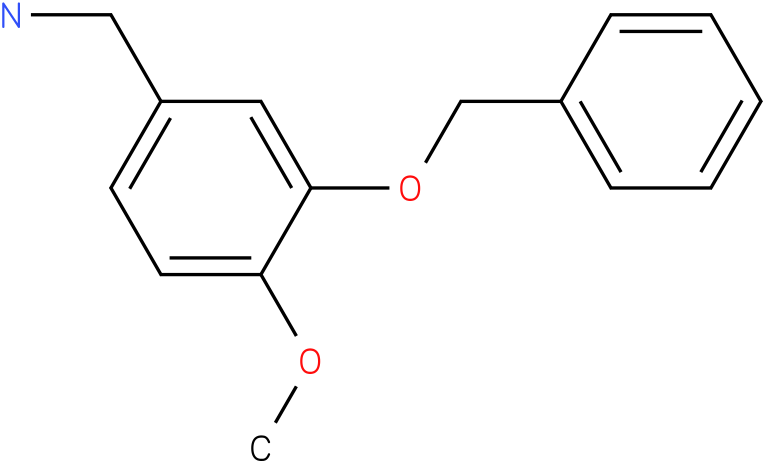 3-Benzyloxy-4-methoxybenzylamine