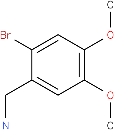 2-Bromo-4,5-dimethoxybenzylamine