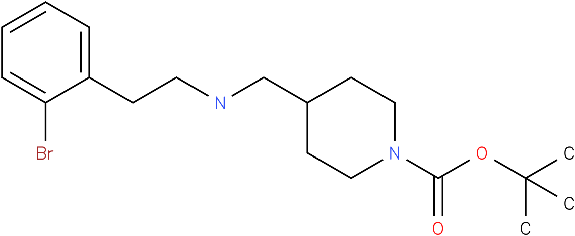 1-Boc-4-{[2-(2-Bromo-phenyl)-ethylamino]-methyl}-piperidine