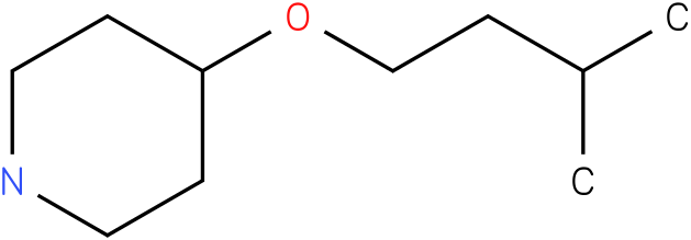 4-(isopentyloxy)piperidine