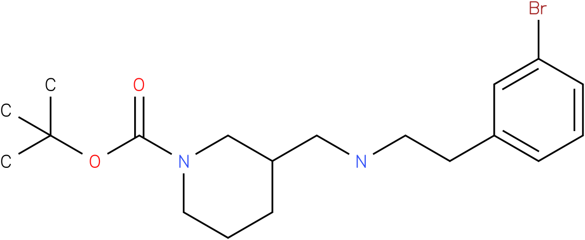 1-Boc-3-{[2-(3-Bromo-phenyl)-ethylamino]-methyl}-piperidine